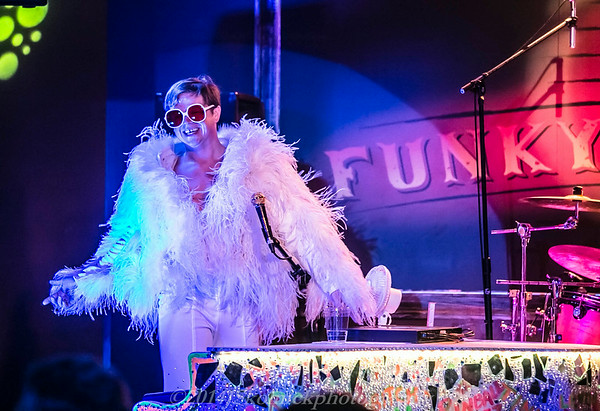 2014 2/8 Elton John Tribute Band at the Funky Biscuit