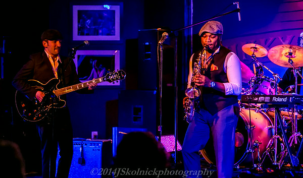 2014 5/3 Matt Marshak and Marcus Anderson at the Funky Biscuit
