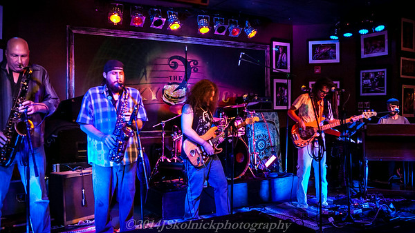 2014 6/26 THE FUNKY NUGGETS AT THE FUNKY BISCUIT