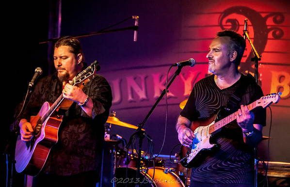 10/25/13 Josh Garrett and Jeff James and Poppa Chubby open for Royal Southern Brotherhood at the Funky Biscuit
