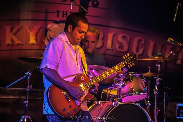 10/5/13 Albert Castiglia at the Funky Biscuit