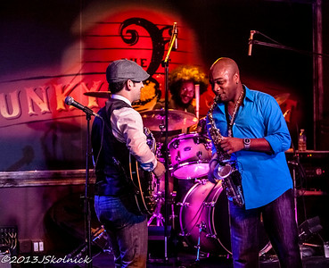 1/12 /13 Matt Marshak and Marcus Anderson at the Funky Biscuit