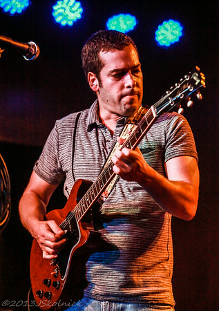 2/21/13 Albert Castiglia Band with guest John McEnroe  sitting in at the Funky Biscuit