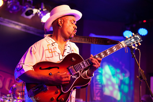 5/11/13 Nick Colionne with the Jeff Prine Group at The Funky Biscuit