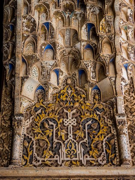 Exquisite Stonework, Alhambra, Granada
