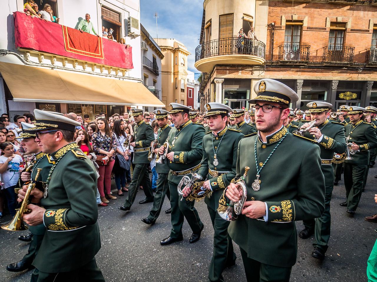 The Passing Musicians, Semana Santa, Córdoba, Spain