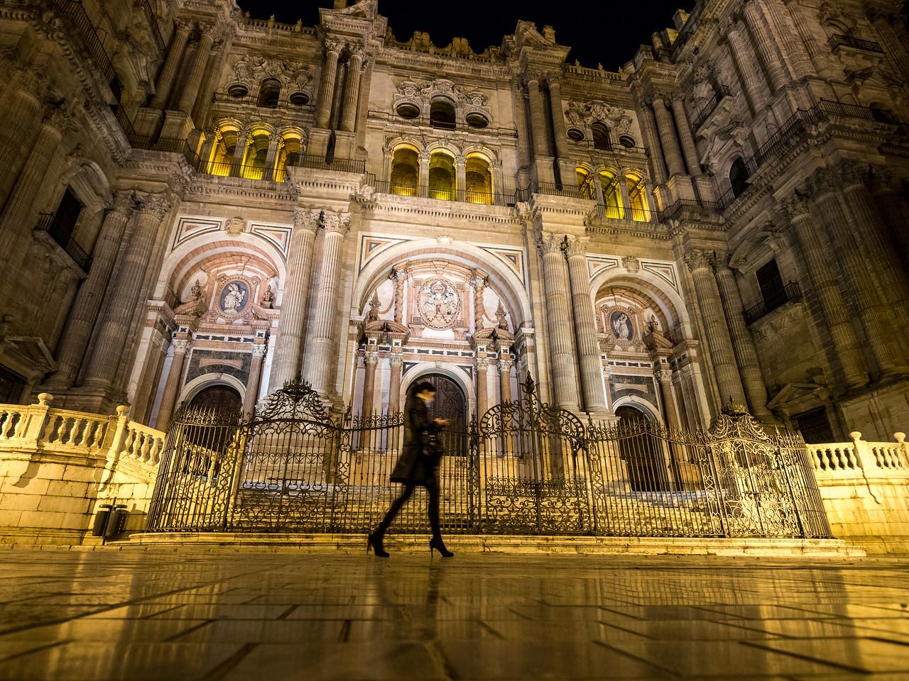 Night Life, Málaga, Spain