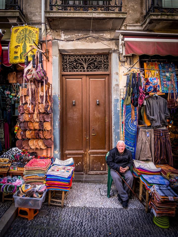Man at the Door, Granada