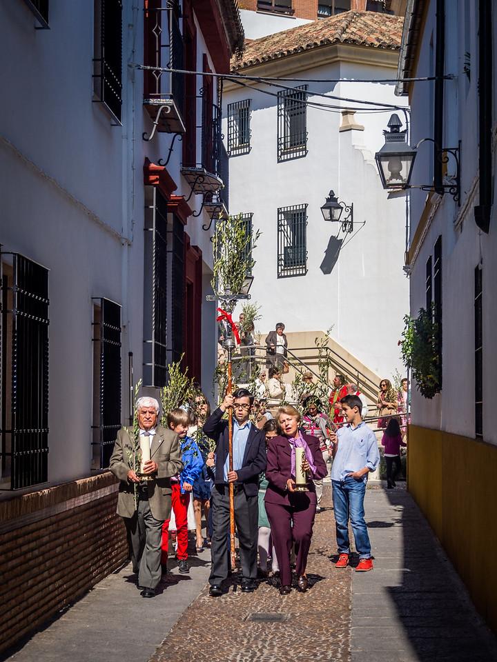 Palm Sunday Procession, Córdoba