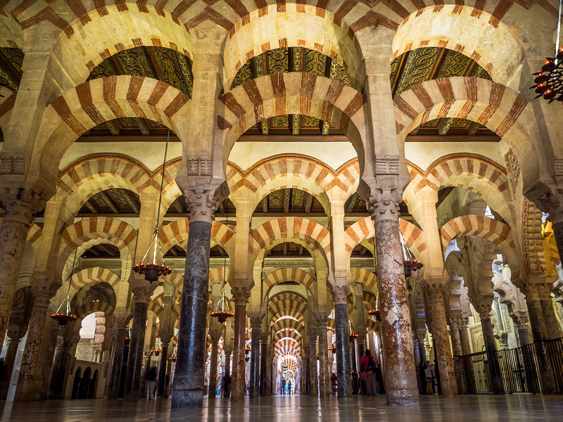Endless Arcades, Mezquita, Córdoba, Spain