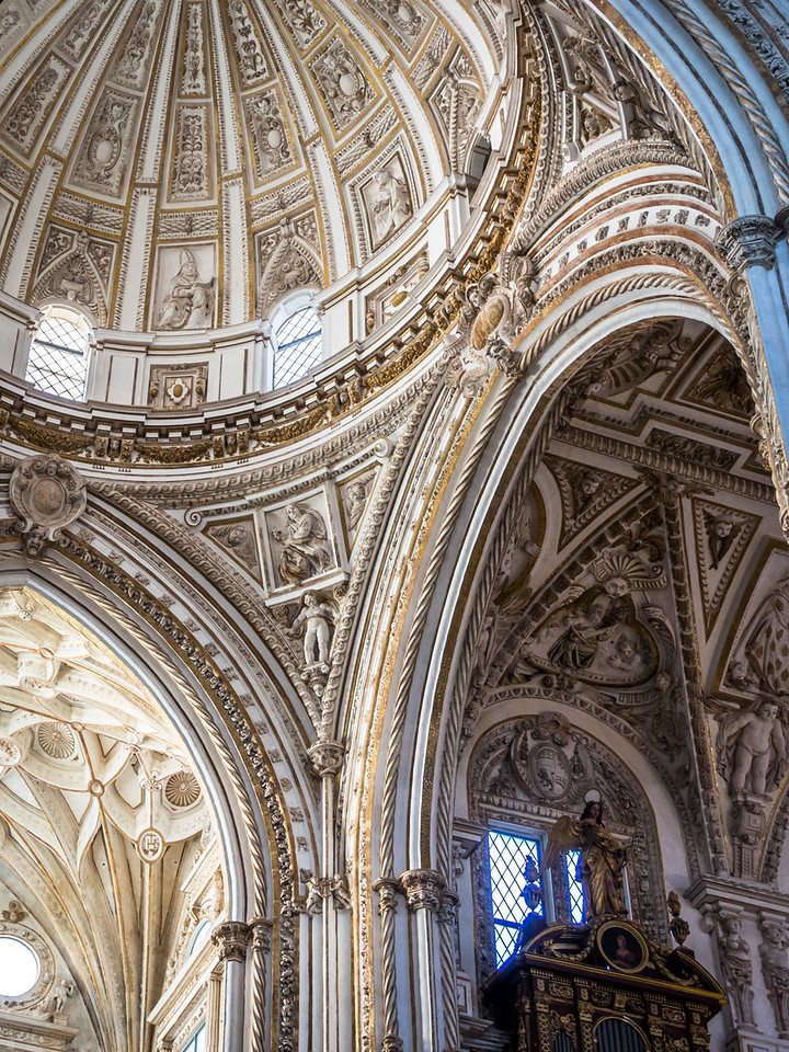Baroque Ceilings of the Mezquita Cathedral, Córdoba