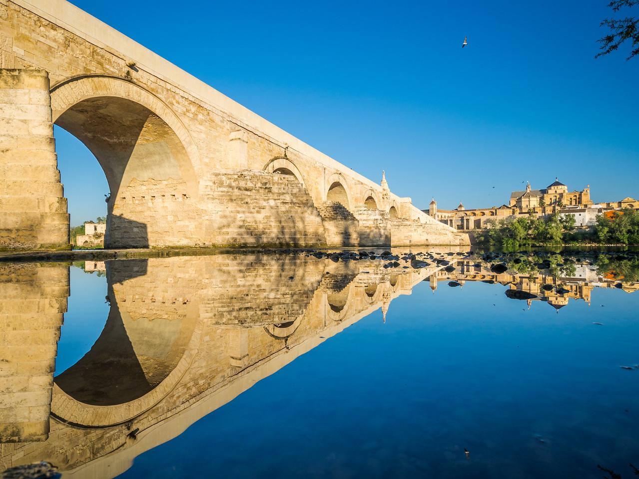 Under the Roman Bridge, Córdoba, Spain