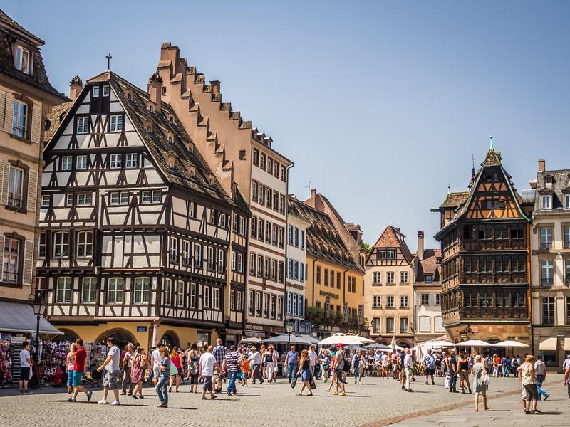 Sunday on the Square, Strasbourg, France