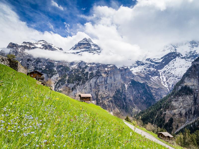Swiss Idyll, Gimmelwald, Switzerland
