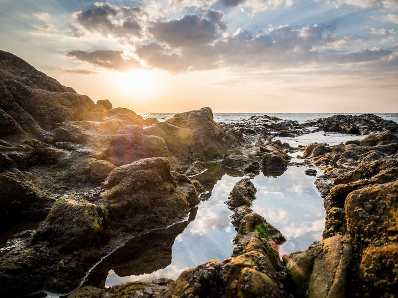 Sunset Tidepool, Khao Lak, Thailand