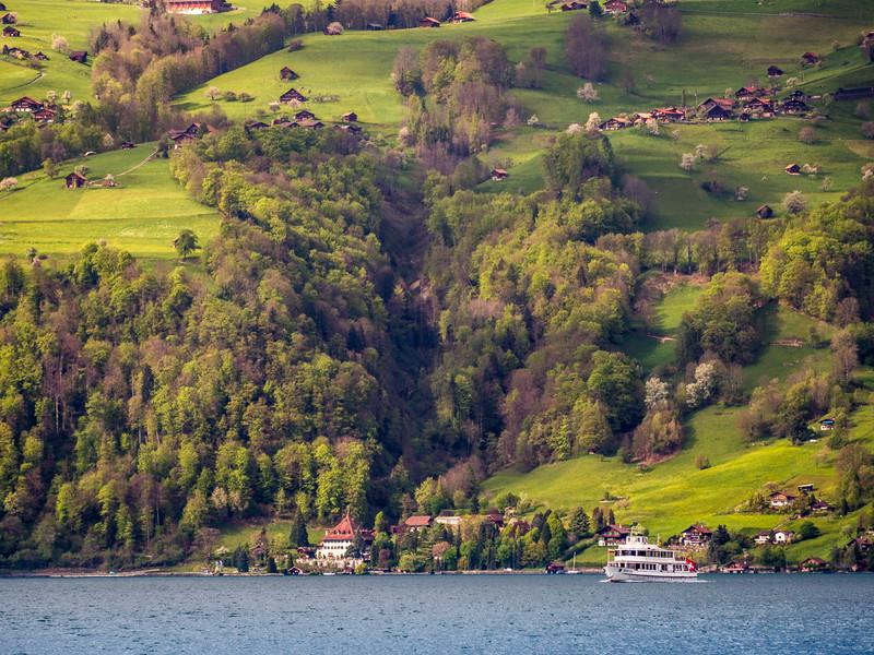 Across Thunersee, Switzerland