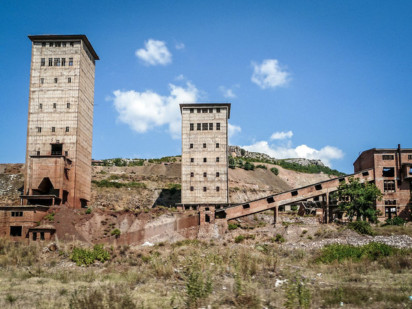 Abandoned Factory, Albania