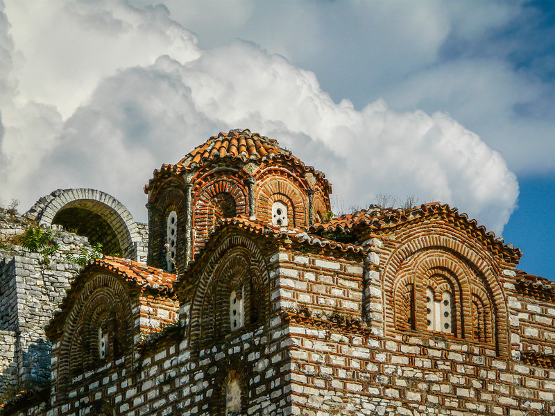 Coming Clouds on the Chapel, Berat