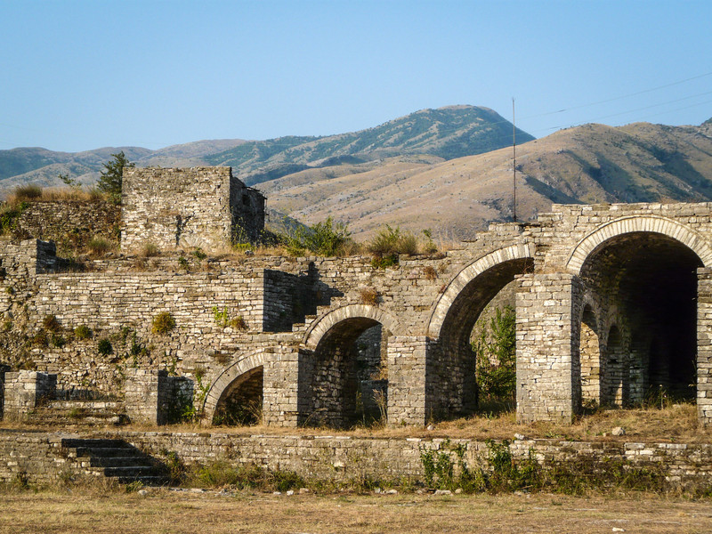 Arches, Gjirokastra Castle