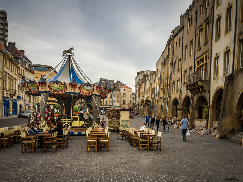 Plaza, Metz