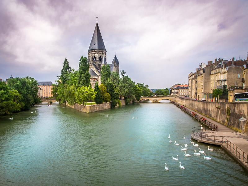 Temple Neuf, Metz