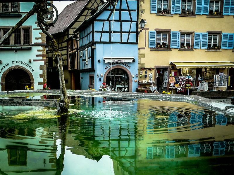 Town Fountain, Eguisheim