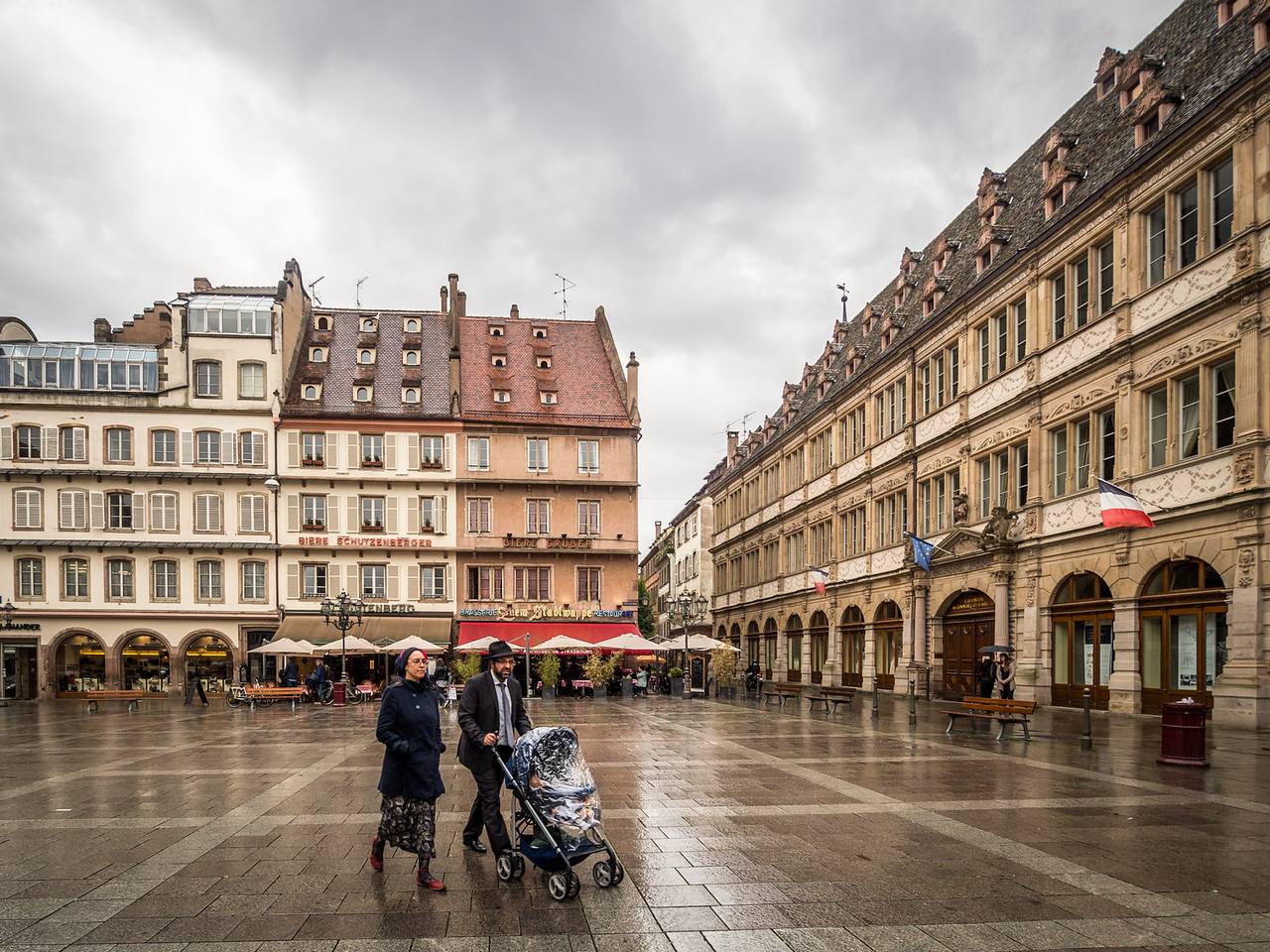 Across the Square, Strasbourg, France