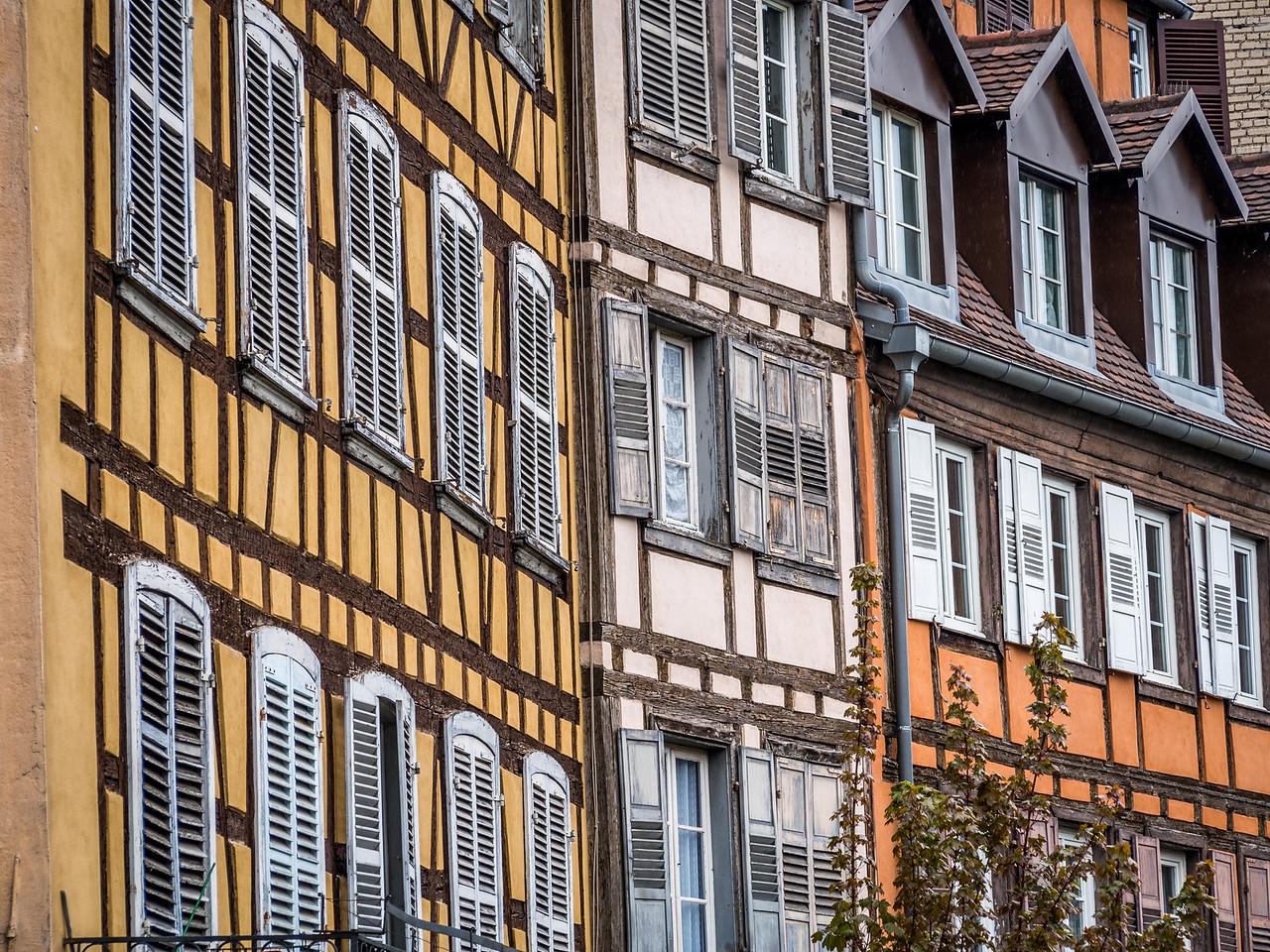 Fachwerk Façades, Strasbourg