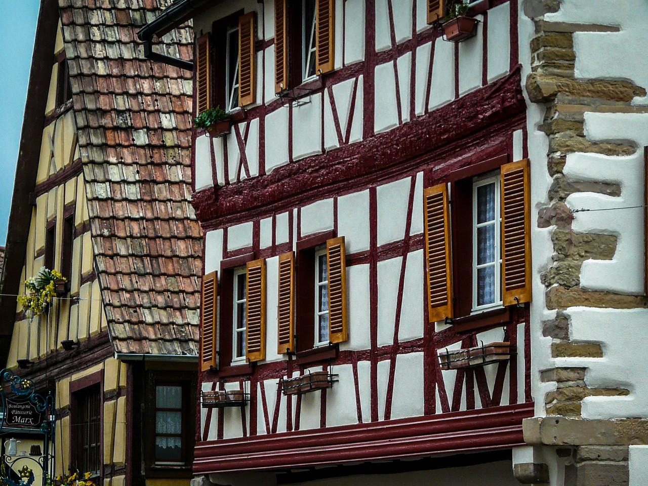 Fachwerk Houses, Eguisheim