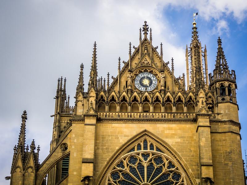 Cathedral Clock, Metz