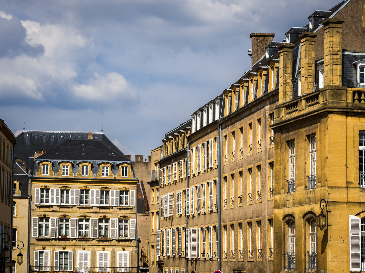 Row Houses, Metz