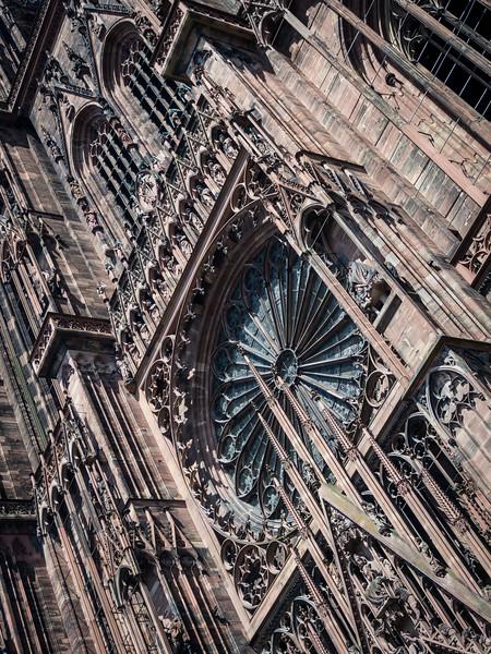 Gothic Façade, Strasbourg