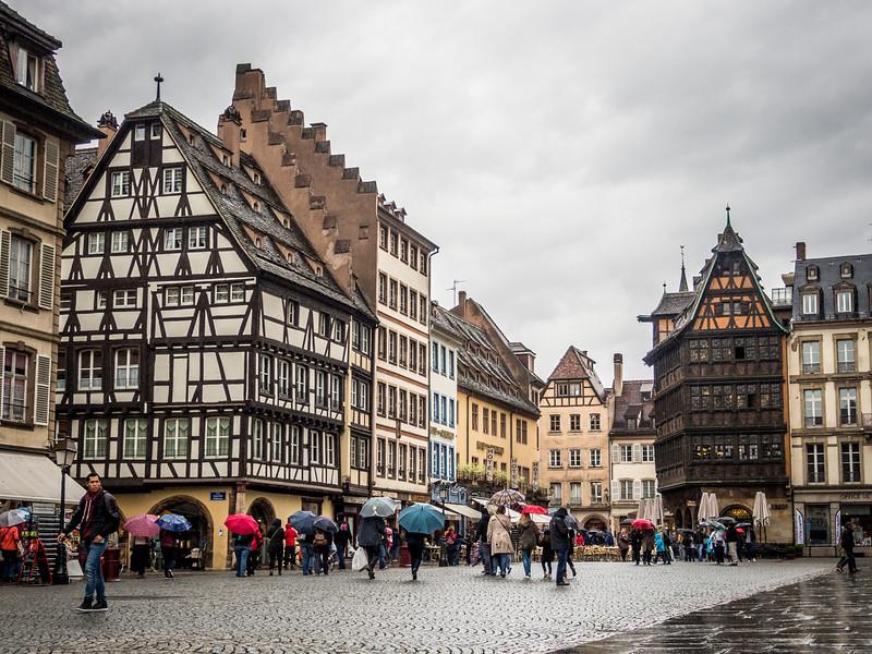 Saturday on the Square, Strasbourg, France
