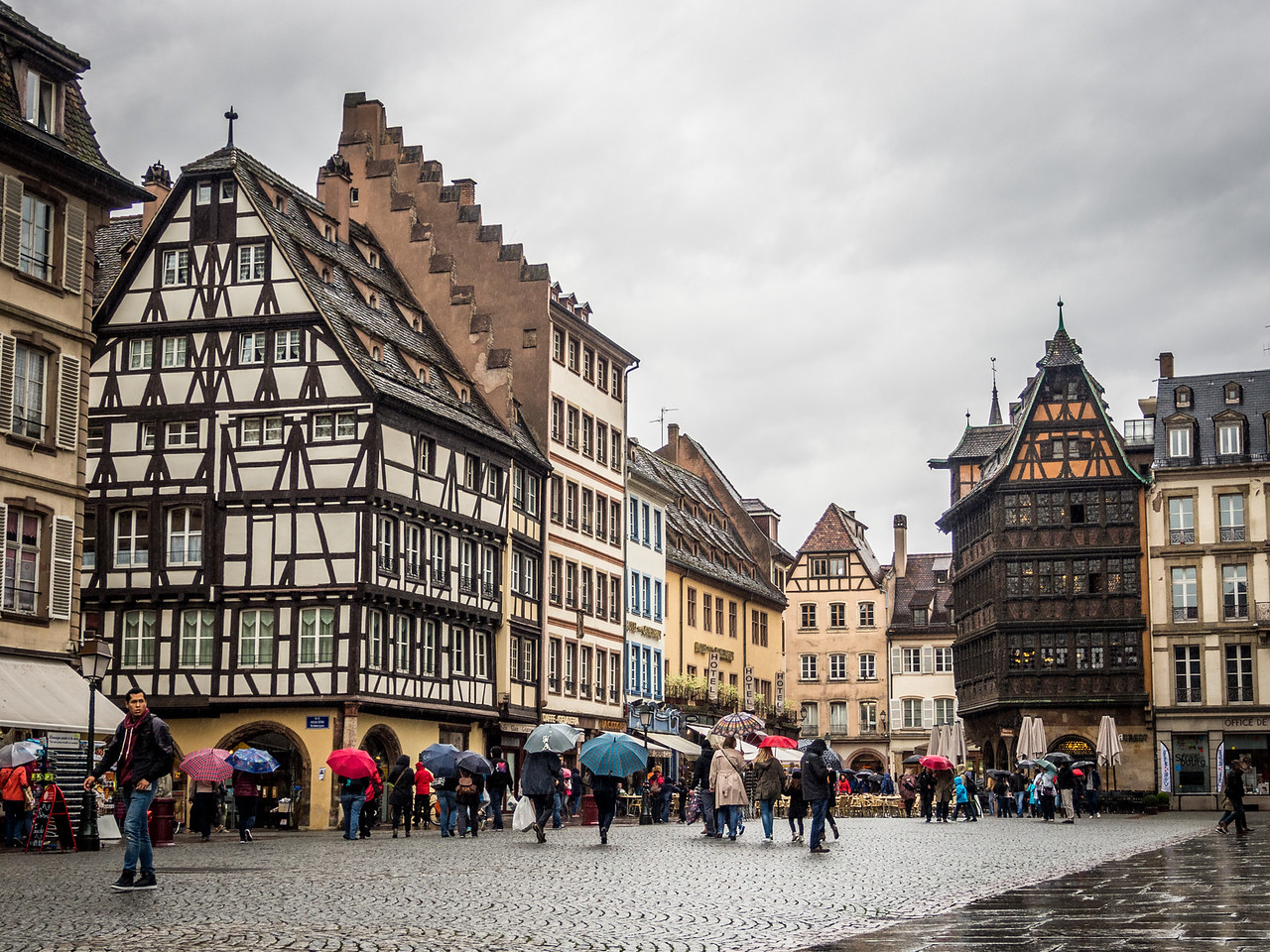 Saturday on the Square, Strasbourg, France