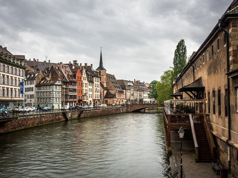 Along the L'Ill, Strasbourg, France