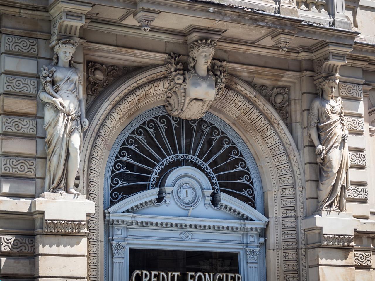 Bank Caryatids, Strasbourg