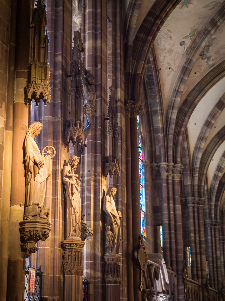 Statues, Strasbourg Cathedral