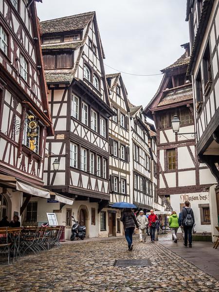 In Le Petit France, Strasbourg