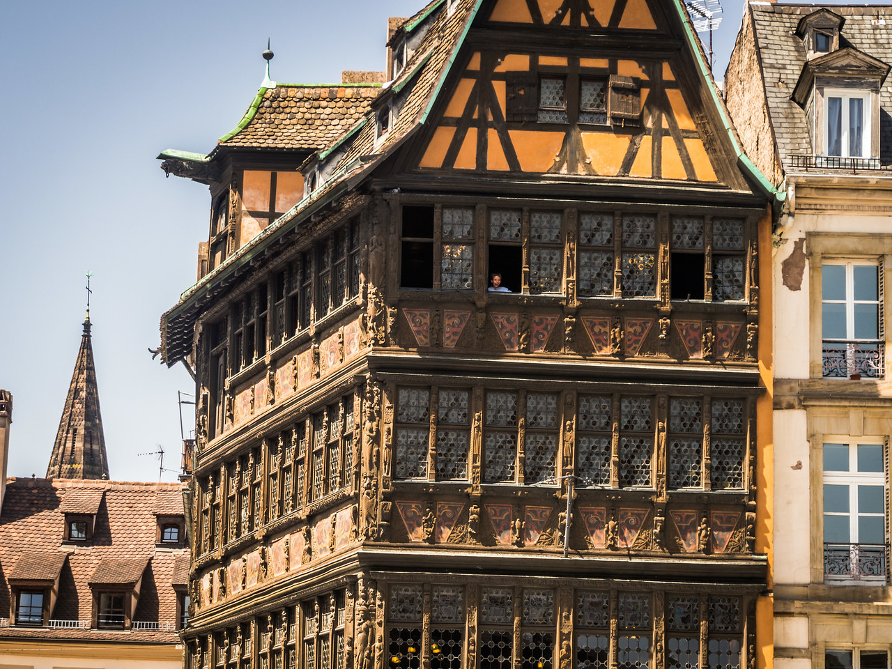 Old Half-Timbered House, Strasbourg, France