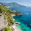 Castle and the Beach, Amalfi Coast