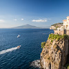 Vesuvius from Sorrento
