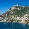 Looking Back at Positano, Amalfi Coast