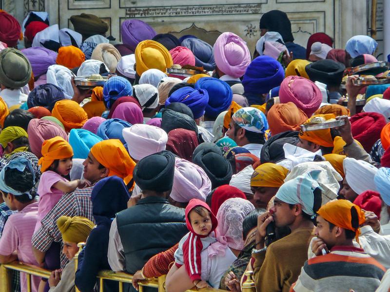 A Sea of Turbans, Amritsar