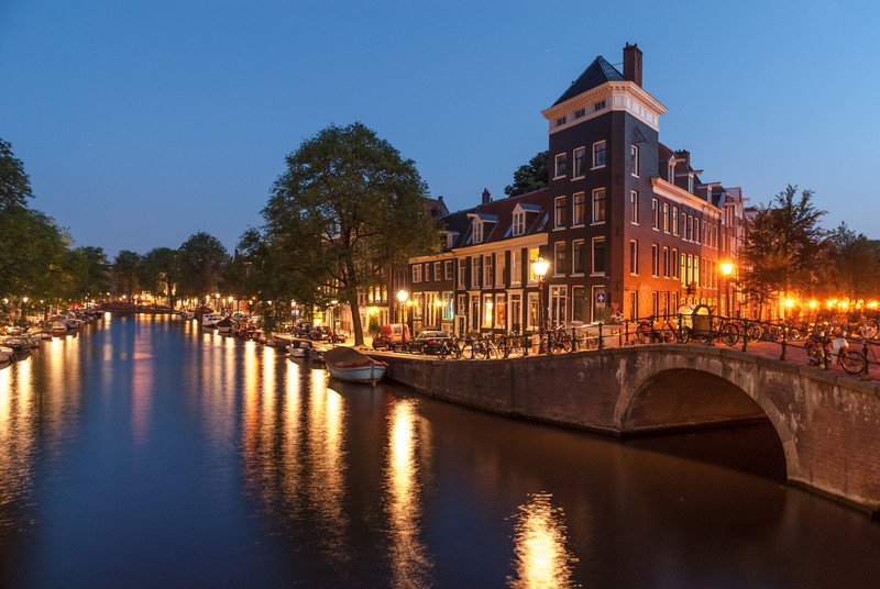 Quiet Evening, Amsterdam