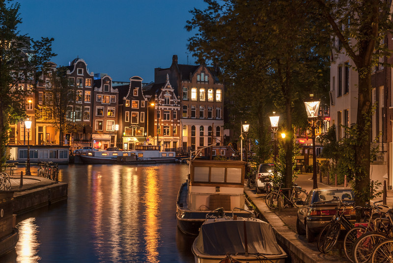 Night on the Canal, Amsterdam
