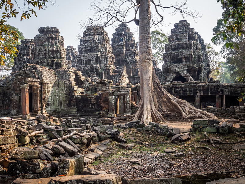 Morning at Banteay Kdei, Angkor