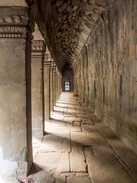Walkway, Ta Prohm, Angkor