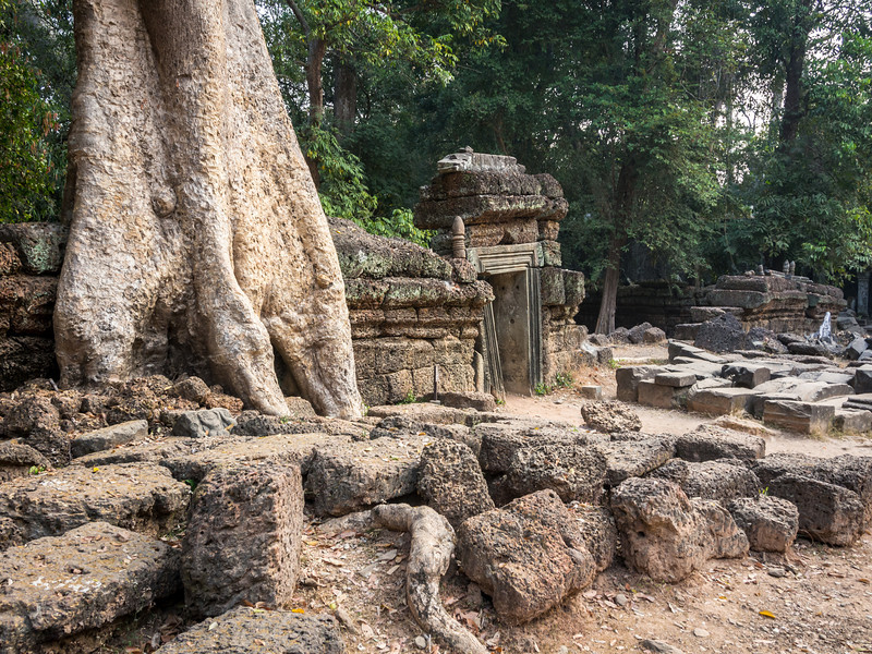 Ancient Doorway, Ta Prohm, Angkor