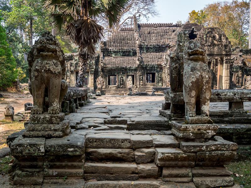 Crumbling Sentinels, Banteay Kdei, Angkor