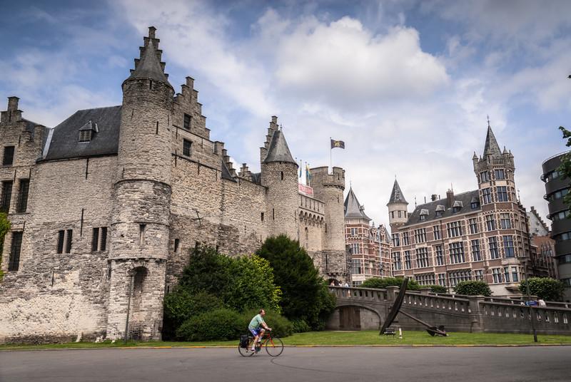 Passing the Castle, Antwerp, Belgium